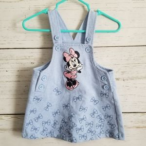 Embroidered Minnie Mouse Skirt